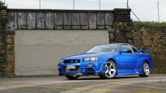 Nissan skyline r34 gt-r wallpaper