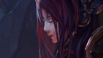 Of legends artwork faces leona chenbo game wallpaper