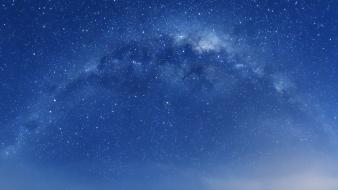 Outer space stars skies wallpaper