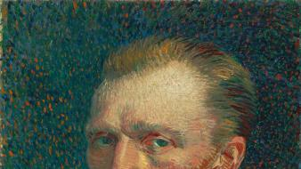 Paintings vincent van gogh self portrait artists wallpaper