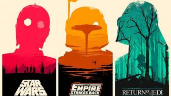 Return of the jedi empire strikes back wallpaper