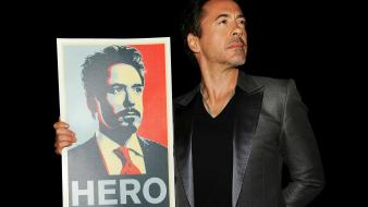 Robert downey jr actors posters black background wallpaper