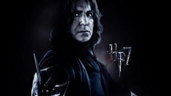 The deathly hallows alan rickman severus snape Wallpaper