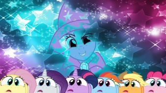 Trixie my little pony: friendship is magic wallpaper