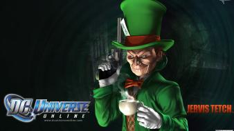 Video games mad hatter dc universe online Wallpaper
