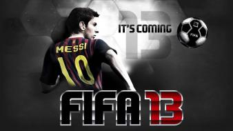 Video games soccer balls fifa 13 wallpaper