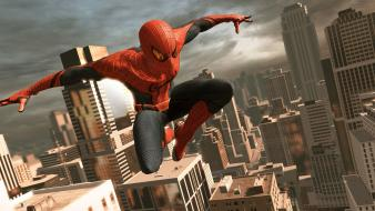Video games spider-man buildings the amazing wallpaper