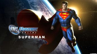 Video games superman dc universe online Wallpaper