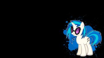 Vinyl scratch simple pony: friendship is magic Wallpaper