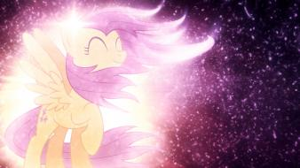 Wind fluttershy my little pony: friendship is magic wallpaper