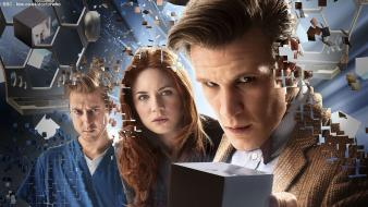 Amy pond eleventh doctor who rory williams wallpaper