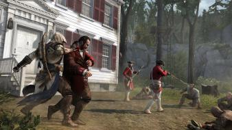 Assassins creed 3 trooper game wallpaper