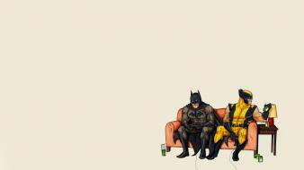 Batman dc comics wolverine marvel wallpaper