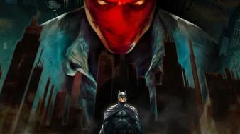 Batman red hood under wallpaper