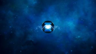 Blue lantern rc wallpaper