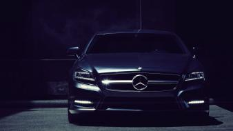 Dark cars mercedes-benz mercedes benz cls 63 amg Wallpaper