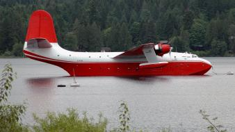 Firefighter martin mars aerial tanker water bomber wallpaper