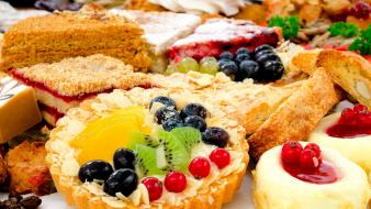Food pie french fruit tart wallpaper