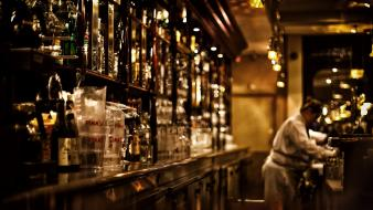 Indoors bottles bar drinks pub wallpaper