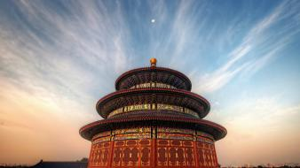 Landscapes architecture chinese wallpaper