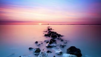 Landscapes seascapes Wallpaper