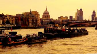 London thames wallpaper