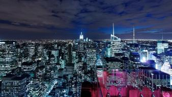 Manhattan cities wallpaper
