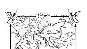 Maps game of thrones valyria wallpaper