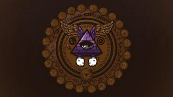 Masonic symbol pyramids jthree concepts jared nickerson wallpaper
