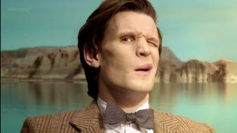 Matt smith eleventh doctor who wallpaper