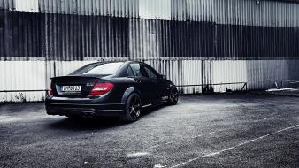 Mercedes benz c63 mercedes-benz black series amg Wallpaper