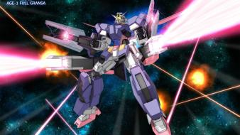 Mobile suit gundam mecha space age wallpaper