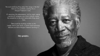Monochrome actors morgan freeman titty sprinkles misspelling Wallpaper