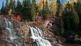 Nature falls minnesota parks gooseberry state wallpaper