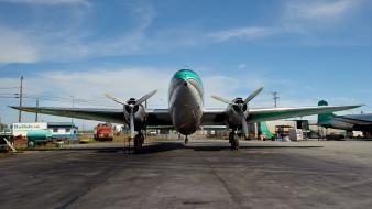 Nwt buffalo airways reality tv curtiss c-46 wallpaper