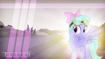 Ponies my little pony: friendship is magic flitter wallpaper