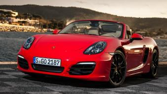 Porsche cars red wallpaper