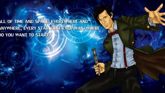 Quotes eleventh doctor who fan art wallpaper
