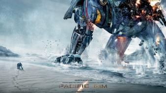 Robots giant hollywood posters 2013 pacific rim wallpaper