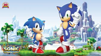 Sonic the hedgehog generations sega Wallpaper