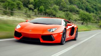 Streets cars lamborghini roads aventador lp700-4 wallpaper