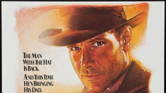 The last crusade harrison ford movie posters wallpaper