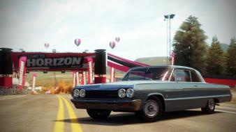 Video games 1964 chevrolet impala forza horizon wallpaper