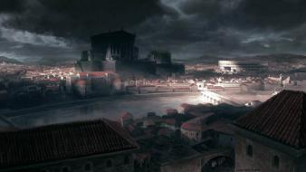 Video games concept art game environments wallpaper