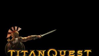 Video games monsters titan quest warriors wallpaper