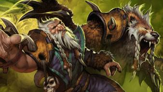 Video games valve corporation dota 2 lone druid wallpaper