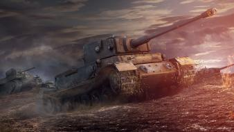 44 t1 heavy pzkpfw vi tiger (p) wallpaper