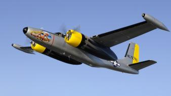 Airplanes a-26 invader wallpaper