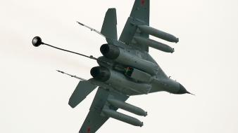 Airplanes mig 29 wallpaper