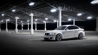 Bmw night cars 1-series coupe wallpaper